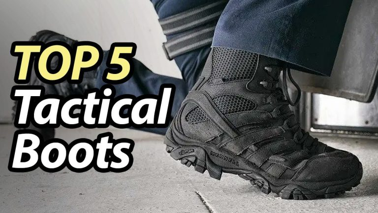 Best Tactical Boots for Correctional Officers